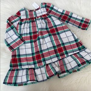 Gymboree Christmas flannel nightgown.